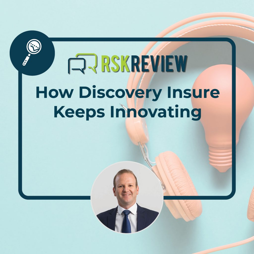 How Discover Insure Keep Innovating episode